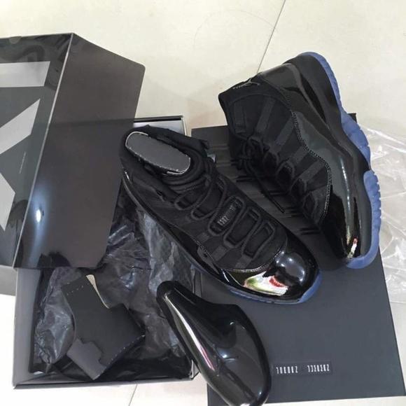 Jordan Shoes Nike Air Retro 11 Black Cap Gown Sz 11 Poshmark
